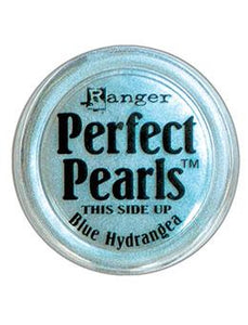 Perfect Pearls™ Pigment Powder Blue Hydrangea, .25oz. Powders Ranger Ink