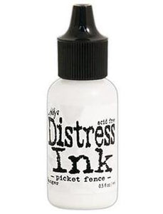 Tim Holtz Distress® Ink Pad Re-Inker Picket Fence, 0.5oz