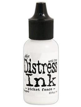 Tim Holtz Distress® Ink Pad Re-Inker Picket Fence, 0.5oz Re-Inker Tim Holtz