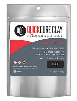 QuickCure Clay Black, 16oz Clay Ranger Ink