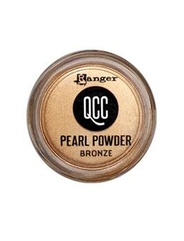 QuickCure Clay Pearl Powders Bronze, 0.25oz Powders Ranger Ink