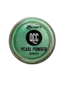 QuickCure Clay Pearl Powders Green, 0.25oz Powders Ranger Ink