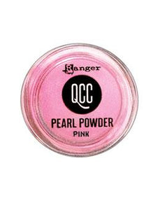 QuickCure Clay Pearl Powders Pink, 0.25oz Powders Ranger Ink