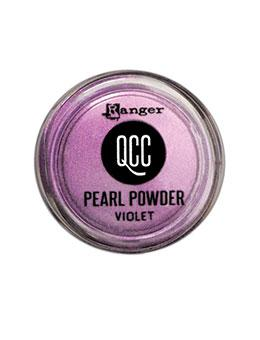 QuickCure Clay Pearl Powders Violet, 0.25oz Powders Ranger Ink