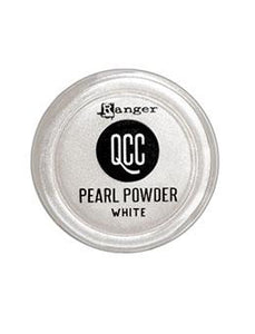QuickCure Clay Pearl Powders White, 0.25oz Powders Ranger Ink