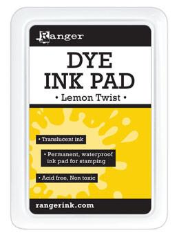 Ranger Dye Ink Pad Lemon Twist Dye Ink Pad Ranger Brand