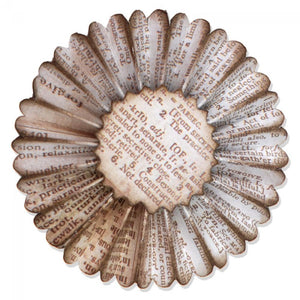 Tim Holtz® Alterations by Sizzix Sizzlits® Decorative Strip Dies - Paper Rosette Cutting Dies Tim Holtz Other