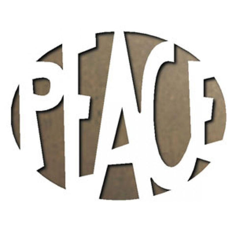 Tim Holtz® Alterations by Sizzix Movers & Shapers™ Dies - Peace Cutting Dies Tim Holtz Other