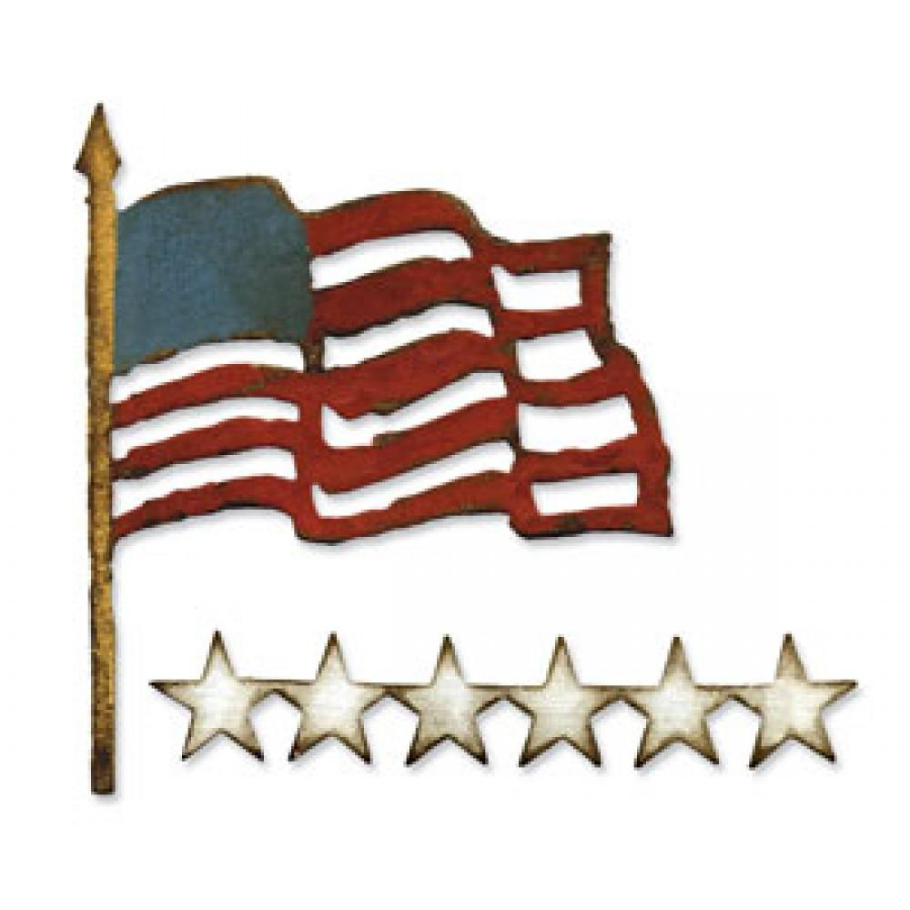Tim Holtz® Alterations by Sizzix - Bigz™ Dies - Old Glory