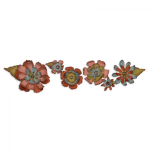 Tim Holtz® Alterations by Sizzix Sizzlits® Decorative Strip Dies - Tapered Flower Garland Cutting Dies Tim Holtz Other