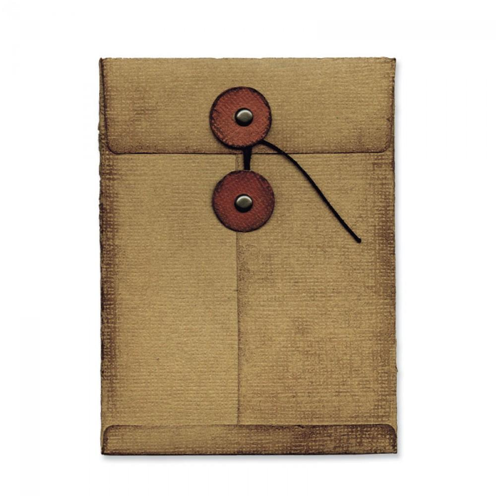 Tim Holtz® Alterations by Sizzix Movers & Shapers™ Dies - L Die - Pocket Envelope