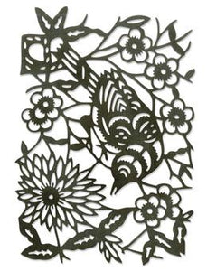 Tim Holtz® Alterations by Sizzix Thinlits™ Dies - Paper-Cut Bird Cutting Dies Tim Holtz Other