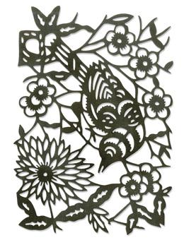 Tim Holtz® Alterations by Sizzix Thinlits™ Dies - Paper-Cut Bird