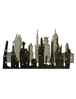 Tim Holtz® Alterations by Sizzix Thinlits™ Dies - Skyline Cityscape, 2pk Cutting Dies Tim Holtz Other