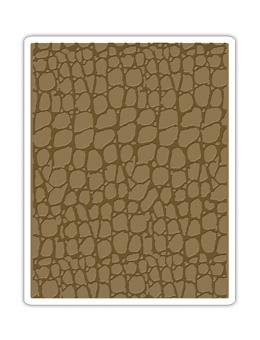 Tim Holtz® Alterations by Sizzix - Texture Fades - Croc Sizzix Tim Holtz Other