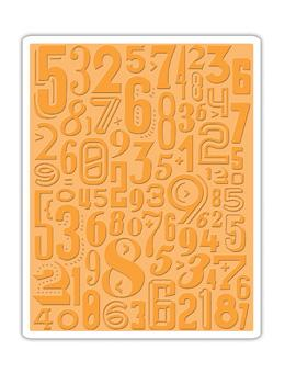 Tim Holtz® Alterations by Sizzix - Texture Fades - Numeric