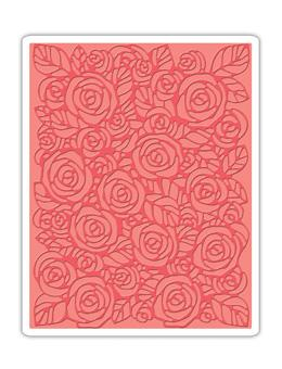 Tim Holtz® Alterations by Sizzix - Texture Fades - Roses Sizzix Tim Holtz Other