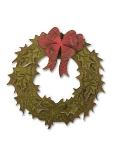 Tim Holtz® Alterations by Sizzix - Dies with Texture Fades - Layered Holiday Wreath Sizzix Tim Holtz Other