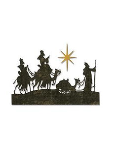 Alterations by Sizzix Thinlit Die Set 2pk - Wise Men Thinlits Die Cuts Tim Holtz Other