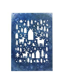 Sizzix® Thinlits™ Die - Nordic Winter by Tim Holtz® Thinlits Die Cuts Tim Holtz Other