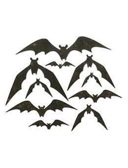 Sizzix® Thinlits™ Die Set 10PK – Bat Crazy by Tim Holtz® Thinlits Die Cuts Tim Holtz Other