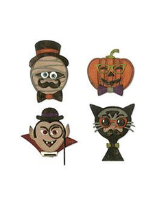Sizzix® Thinlits™ Die Set 10PK - Hip Haunts by Tim Holtz® Thinlits Die Cuts Tim Holtz Other