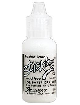 Stickles™ Glitter Glue Frosted Lace, 0.5oz Stickles Ranger Brand