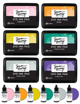 Simon Hurley create. Ink Pads & Re-Inkers Bundles Simon Hurley