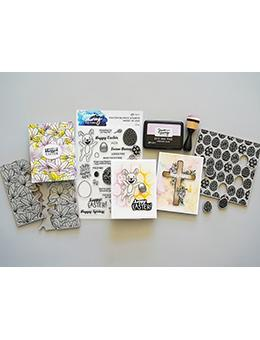 Simon Hurley create. Background Stamp Egg Hunt Stamps Simon Hurley