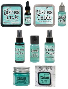 Tim Holtz Distress® Salvaged Patina Bundle Bundles Distress