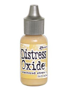 Tim Holtz Distress® Oxide® Re-Inker Scattered Straw, 0.5oz Re-Inker Tim Holtz