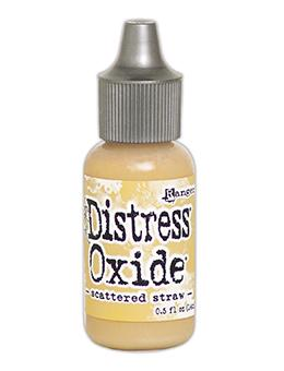 NEW! Tim Holtz Distress® Oxide® Re-Inker Scattered Straw, 0.5oz