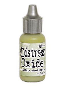 Tim Holtz Distress® Oxide® Re-Inker Shabby Shutters, 0.5oz
