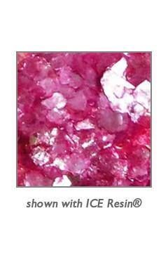 ICE Resin® Raspberry Shattered Mica Shattered Mica ICE Resin®