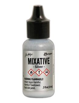Tim Holtz® Mixatives™ Silver, 0.5oz