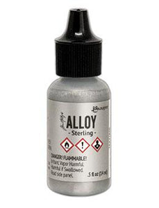 Tim Holtz® Alloys Sterling, 0.5oz Ink Alcohol Ink