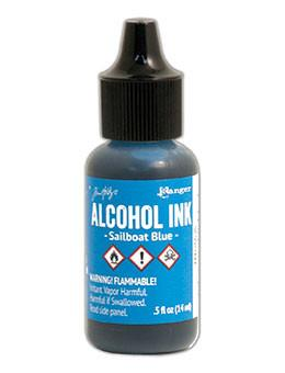 Tim Holtz® Alcohol Ink Sailboat Blue, 0.5oz