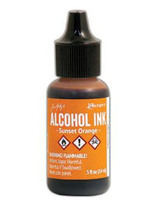 Tim Holtz® Alcohol Ink Sunset Orange, 0.5oz