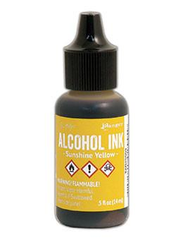 Tim Holtz® Alcohol Ink Sunshine Yellow, 0.5oz Ink Alcohol Ink