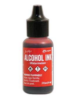 Tim Holtz® Alcohol Ink Watermelon, 0.5oz Ink Alcohol Ink