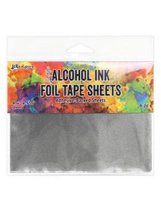 "Tim Holtz® Alcohol Ink Foil Tape Sheets, 4.25"" x 5.5"""