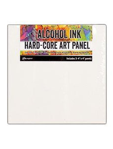 "Tim Holtz® Hard-Core Art Panel (4"" x 4"") 3pk"