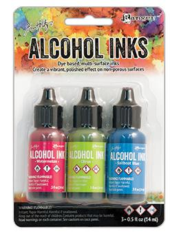 Tim Holtz® Alcohol Ink Kit - Dockside Picnic