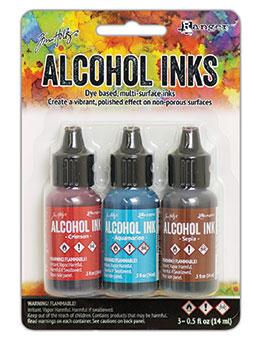 NEW! Tim Holtz® Alcohol Ink Kit - Rodeo