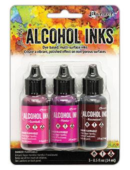 Tim Holtz® Alcohol Ink Kit - Pink/Red Spectrum Kits Alcohol Ink