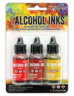 Tim Holtz® Alcohol Ink Kit - Orange/Yellow Spectrum Kits Alcohol Ink