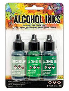 Tim Holtz® Alcohol Ink Kit - Mint/Green Spectrum Kits Alcohol Ink