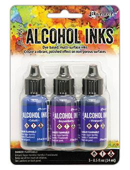 Tim Holtz® Alcohol Ink Kit - Indigo/Violet Spectrum Kits Alcohol Ink