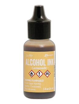 Tim Holtz® Alcohol Ink Lemonade, 0.5oz Ink Alcohol Ink
