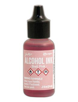 Tim Holtz® Alcohol Ink Shell Pink, 0.5oz Ink Alcohol Ink